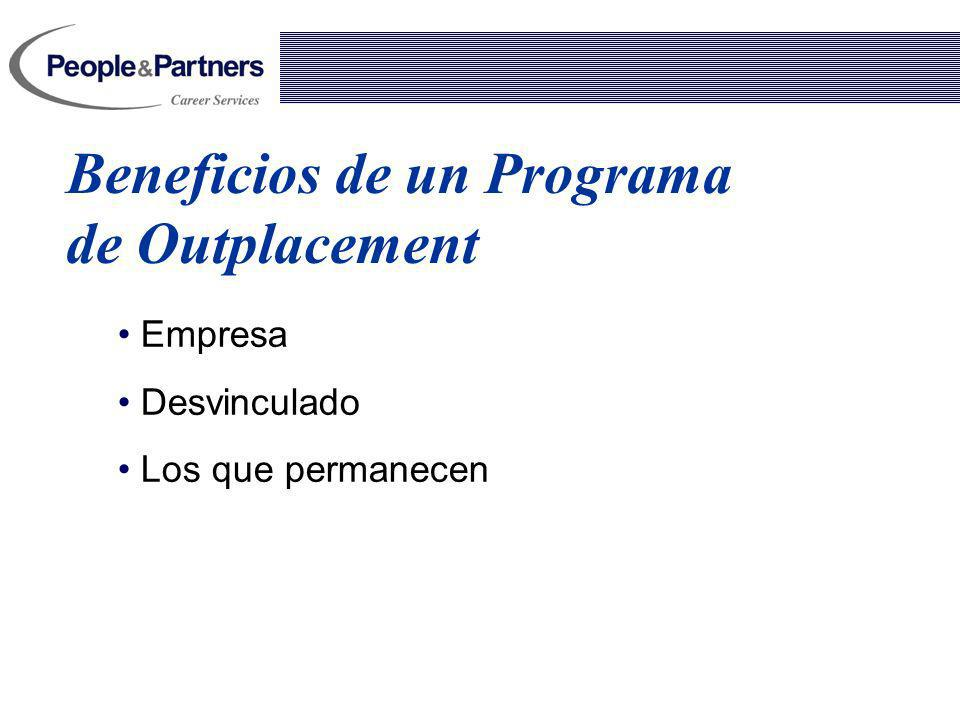 Beneficios de un Programa de Outplacement