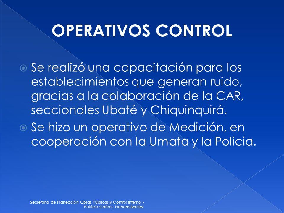 OPERATIVOS CONTROL