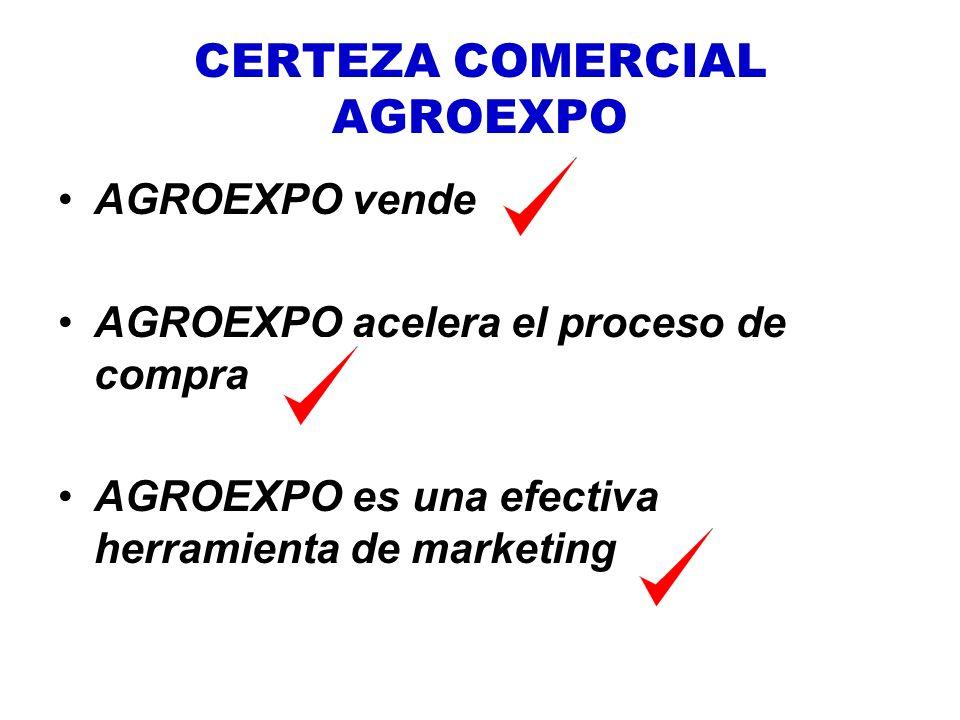 CERTEZA COMERCIAL AGROEXPO