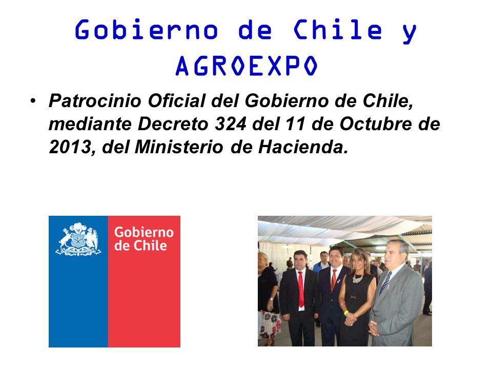 Gobierno de Chile y AGROEXPO