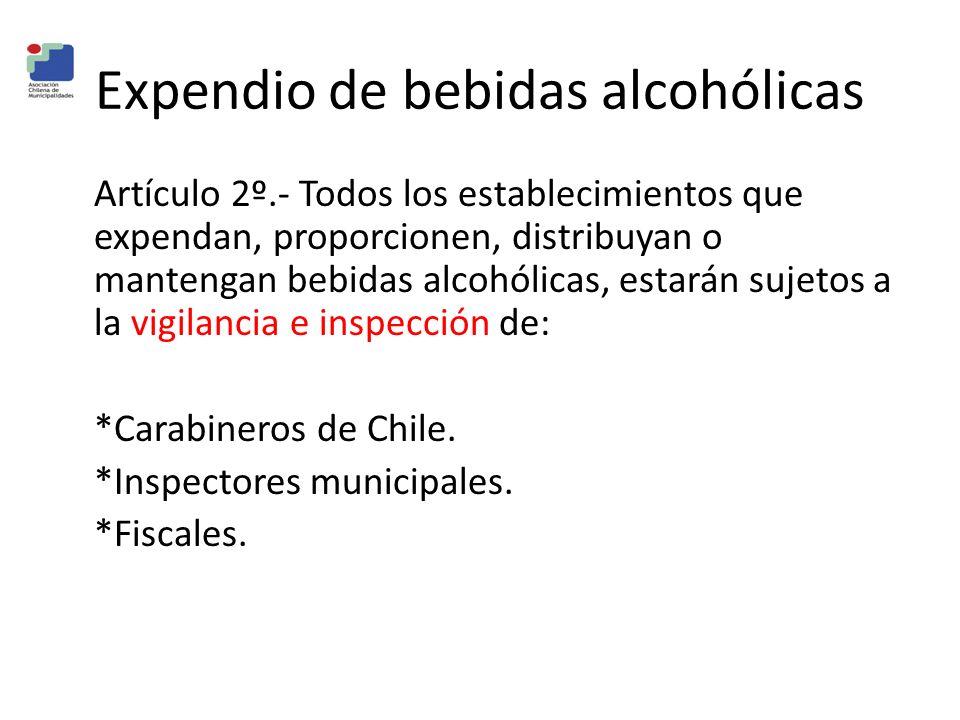 Expendio de bebidas alcohólicas