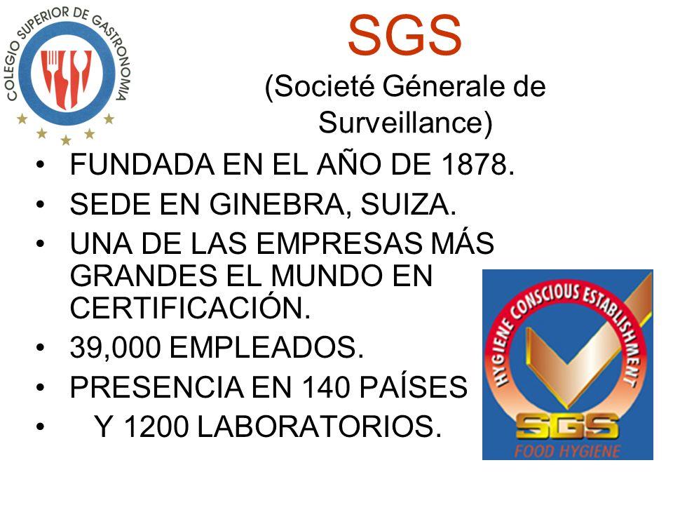 SGS (Societé Génerale de Surveillance)