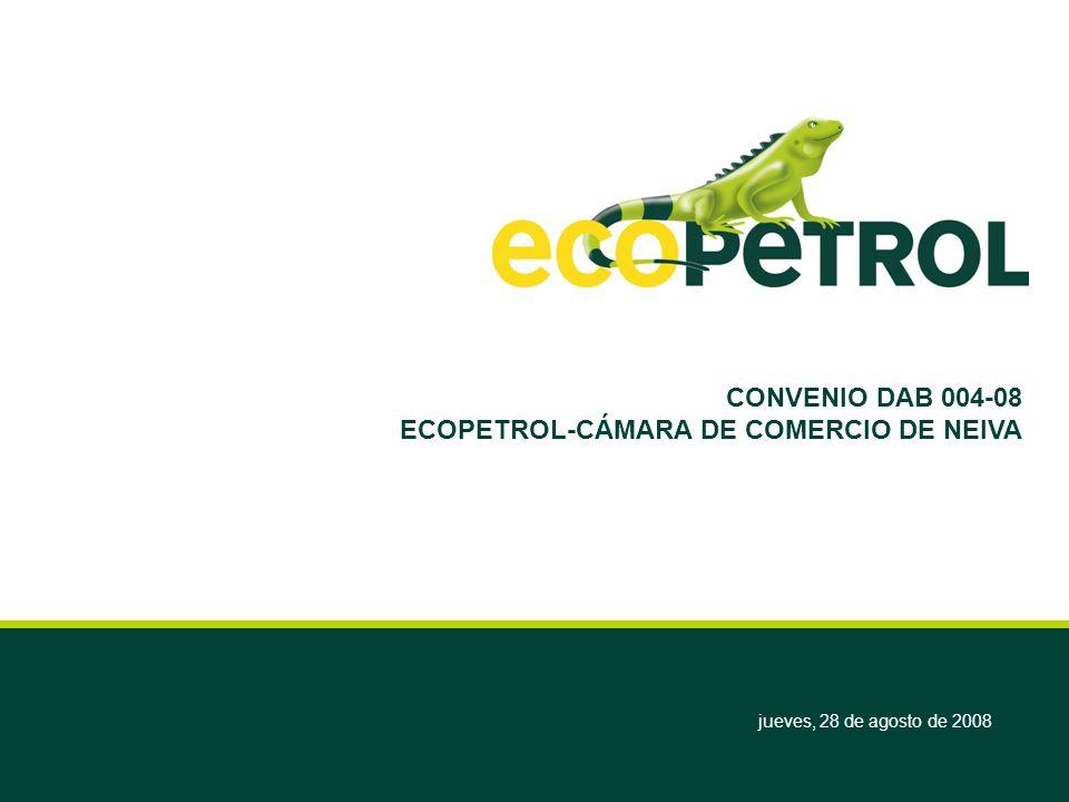 ECOPETROL-CÁMARA DE COMERCIO DE NEIVA