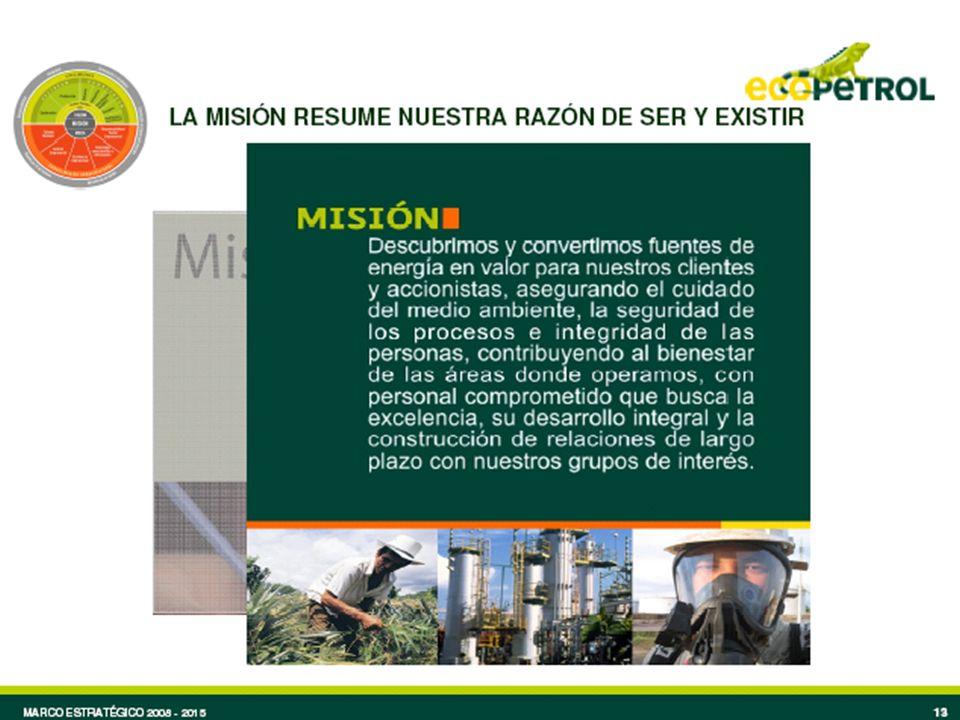 La Misión es nuestro gran propósito como empresa, la razón por la que existimos, la misión que justos cumplimos diariamente