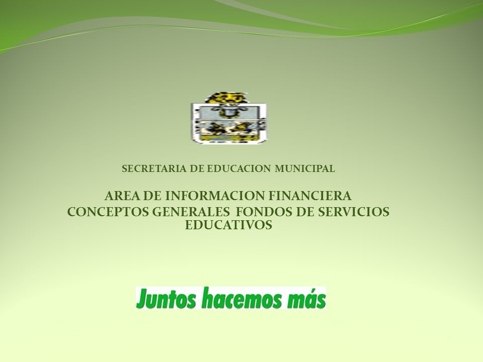 AREA DE INFORMACION FINANCIERA
