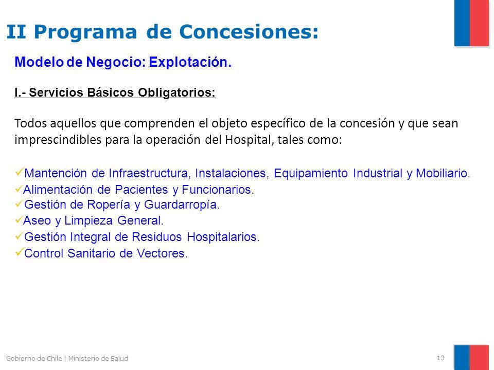 II Programa de Concesiones: