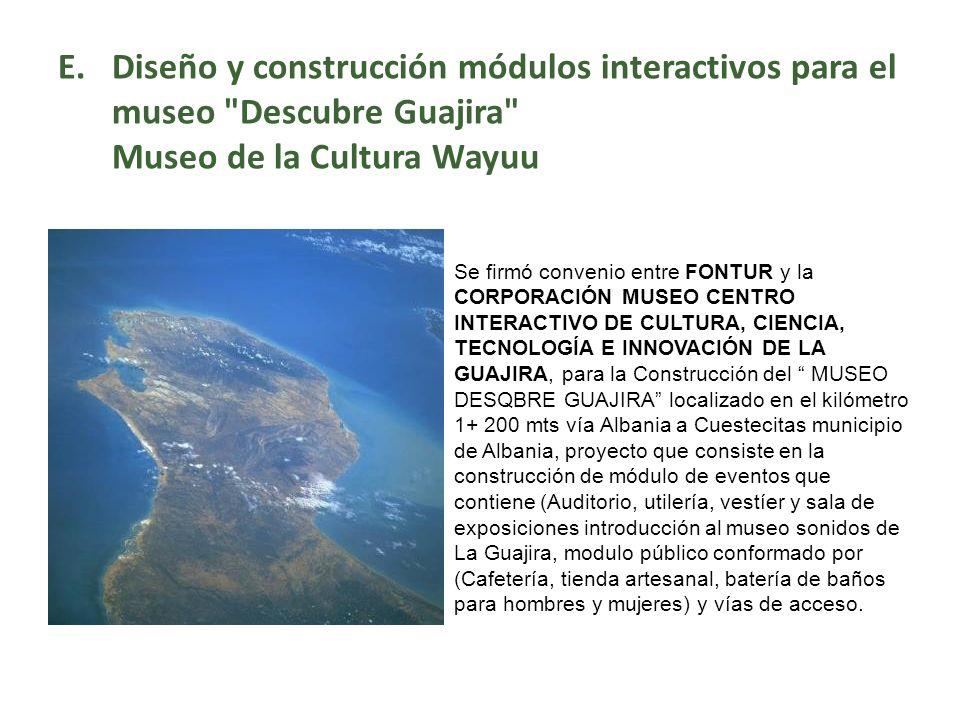 Diseño y construcción módulos interactivos para el museo Descubre Guajira Museo de la Cultura Wayuu
