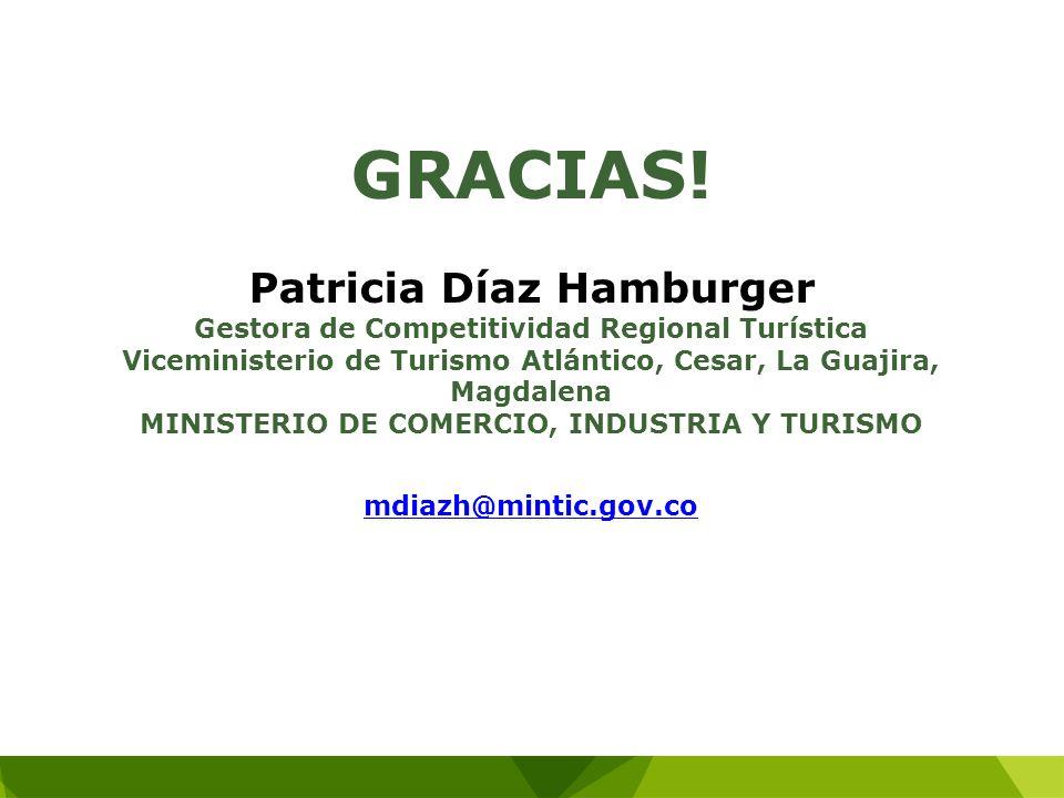 GRACIAS! Patricia Díaz Hamburger