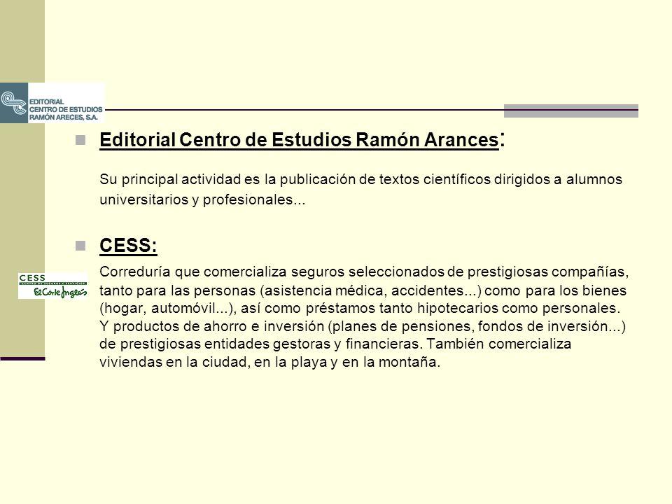 Editorial Centro de Estudios Ramón Arances: