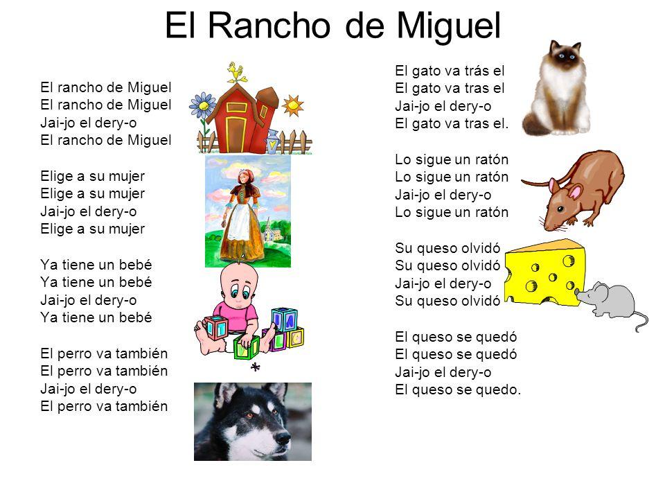 El Rancho de Miguel El gato va trás el El gato va tras el