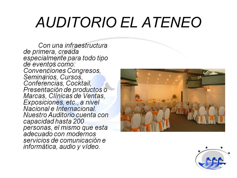 AUDITORIO EL ATENEO