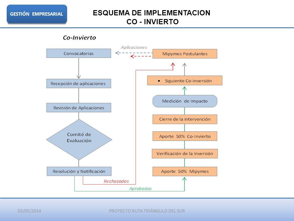 ESQUEMA DE IMPLEMENTACION