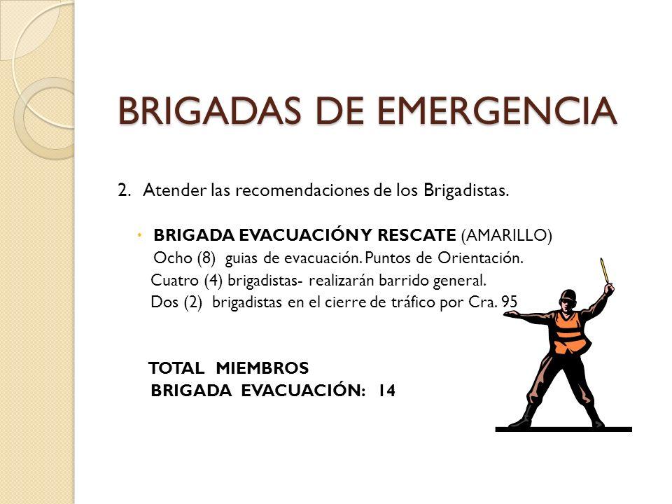 BRIGADAS DE EMERGENCIA