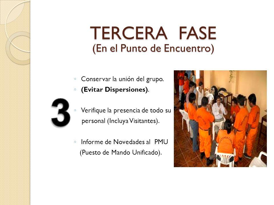 TERCERA FASE (En el Punto de Encuentro)