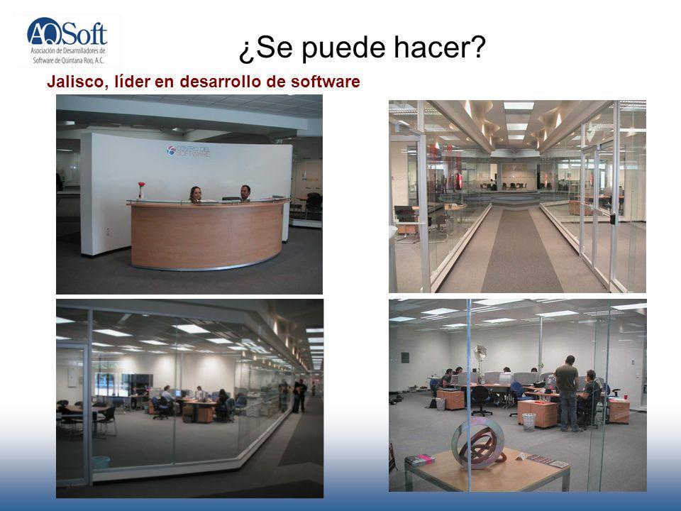 ¿Se puede hacer Jalisco, líder en desarrollo de software