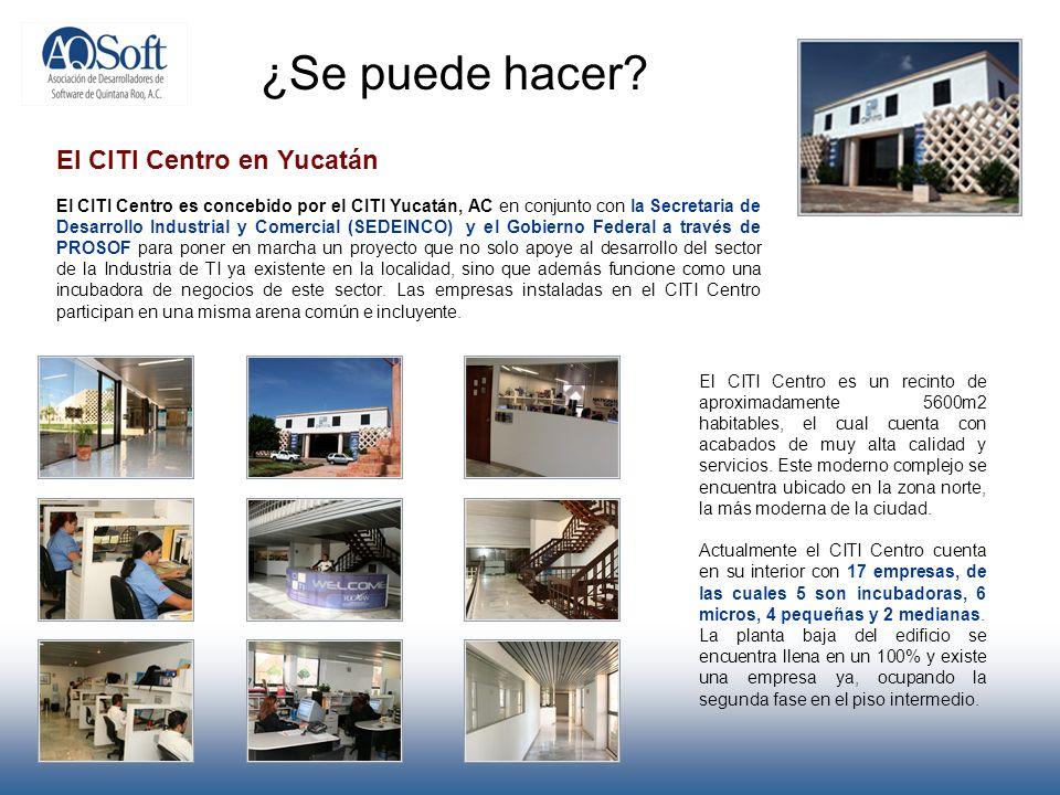 ¿Se puede hacer El CITI Centro en Yucatán