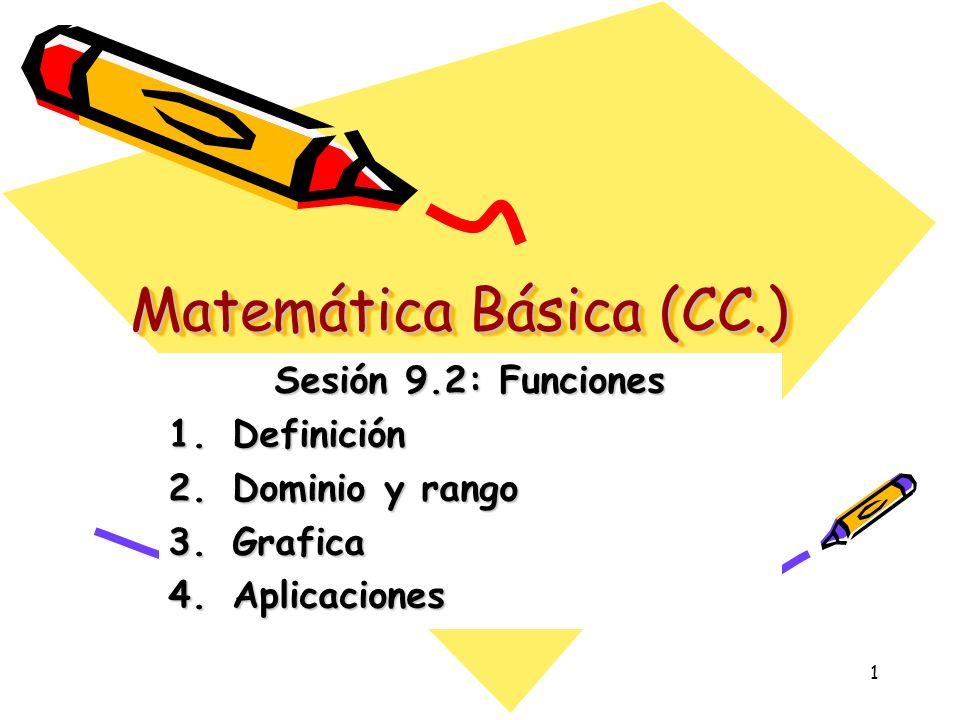 Matemática Básica (CC.)