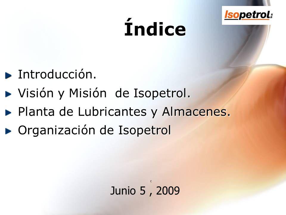 Mercado de Lubricantes en Venezuela Junio 5 , 2009