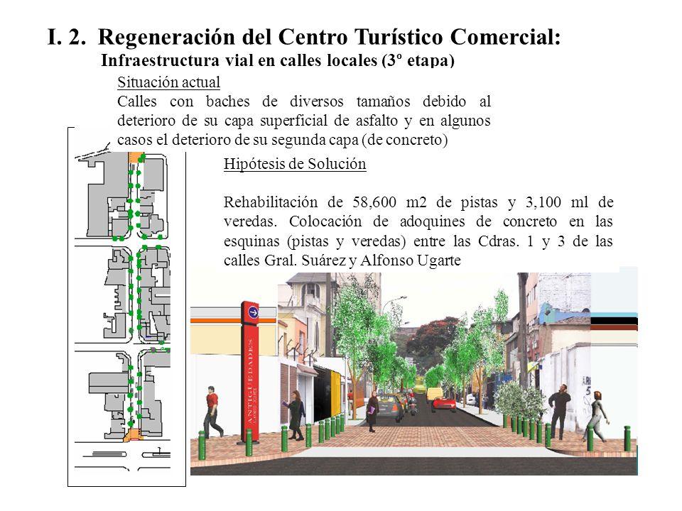 I. 2. Regeneración del Centro Turístico Comercial:
