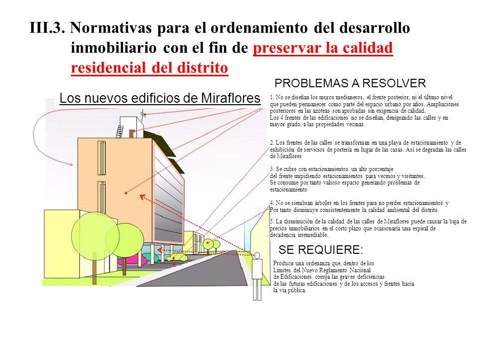 III.3. Normativas para el ordenamiento del desarrollo