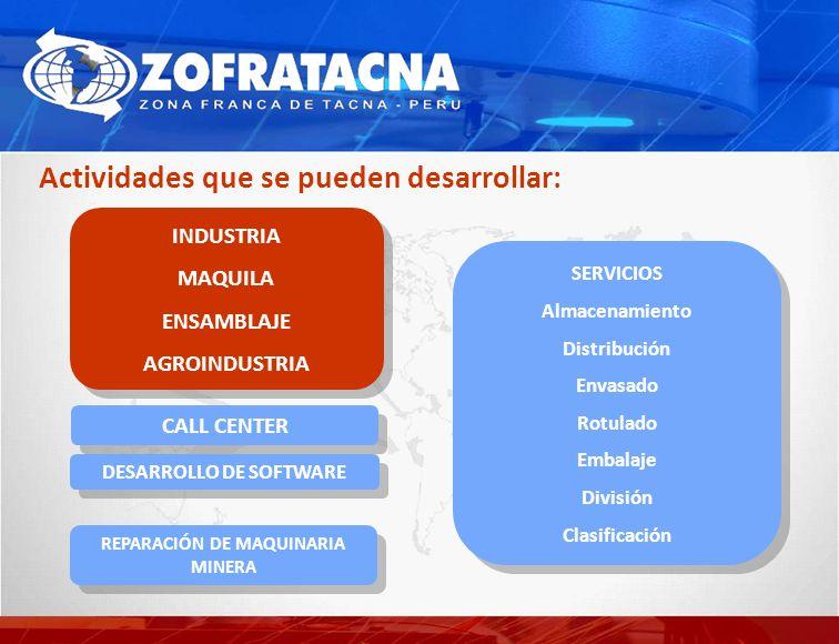 DESARROLLO DE SOFTWARE REPARACIÓN DE MAQUINARIA MINERA
