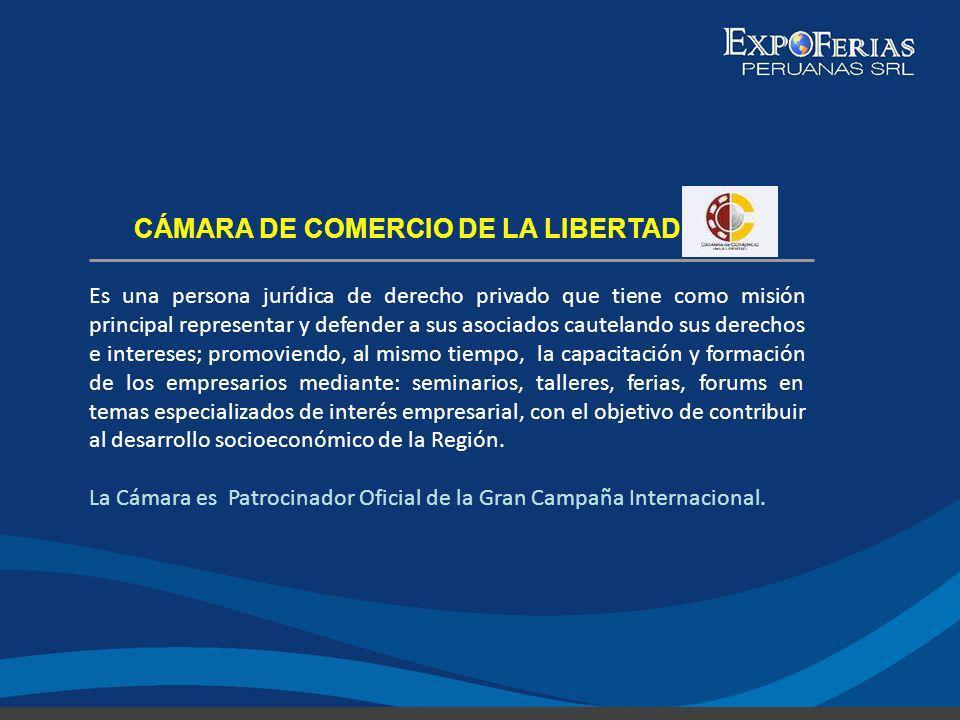 CÁMARA DE COMERCIO DE LA LIBERTAD