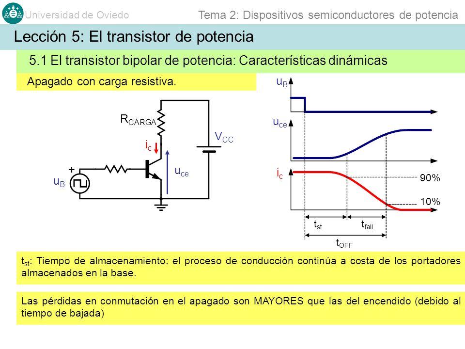 Lección 5: El transistor de potencia