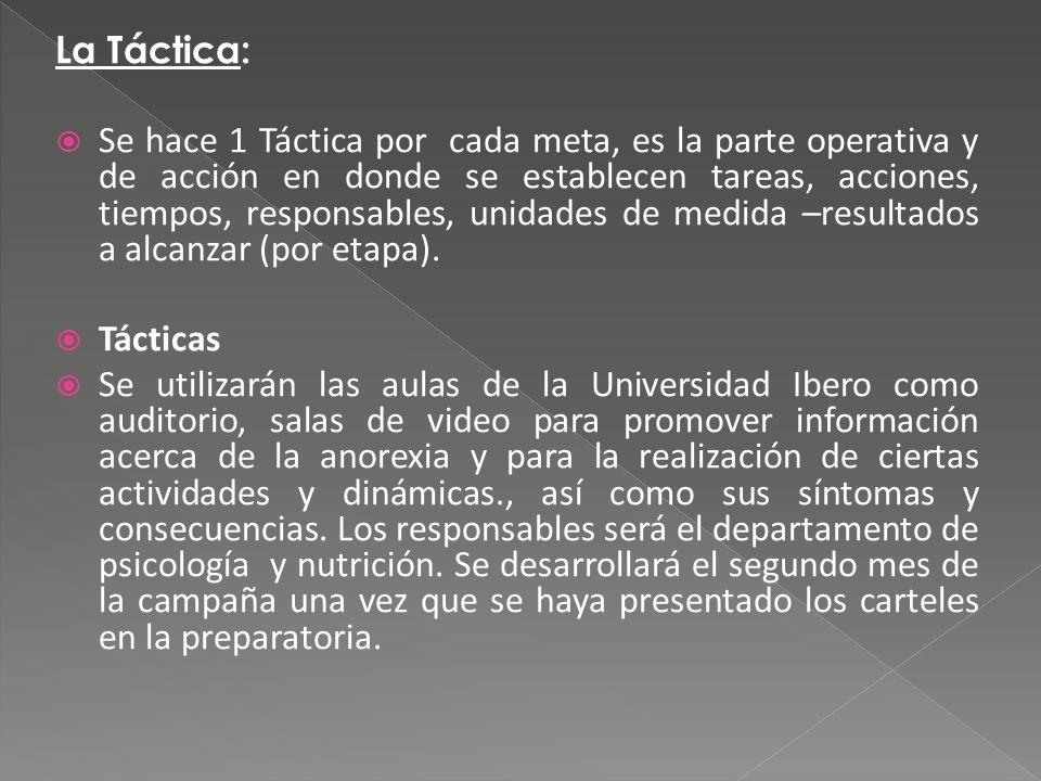 La Táctica: