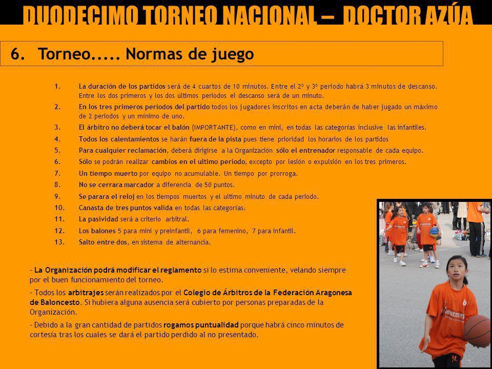 DUODECIMO TORNEO NACIONAL – DOCTOR AZÚA