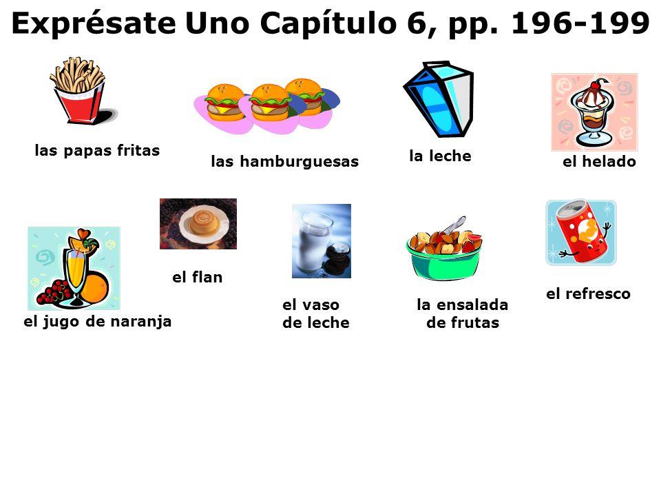 Exprésate Uno Capítulo 6, pp. 196-199