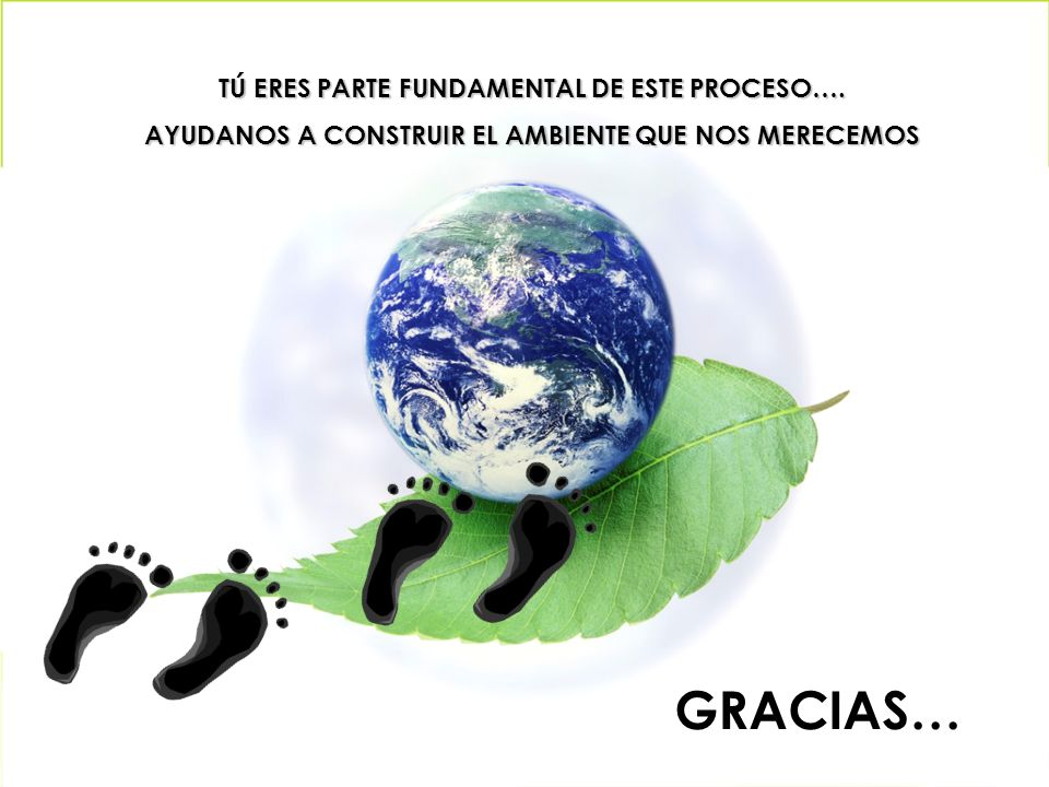 GRACIAS… TÚ ERES PARTE FUNDAMENTAL DE ESTE PROCESO….