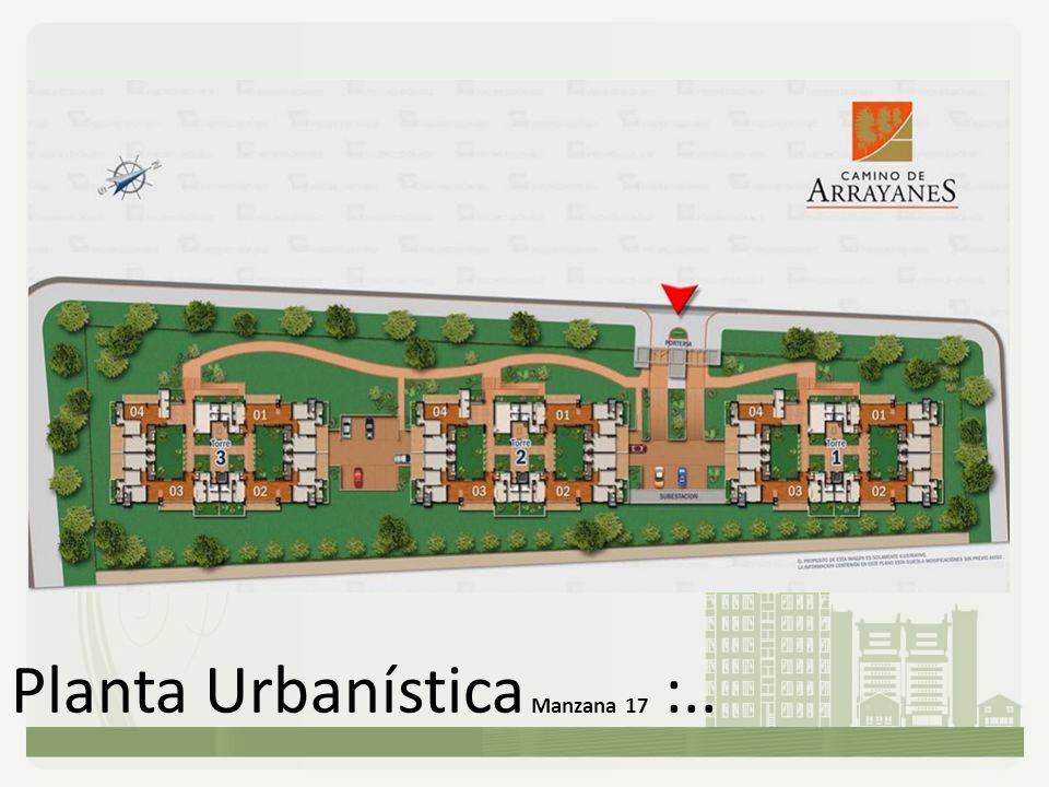 Planta Urbanística Manzana 17 :..