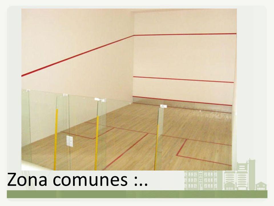 Zona comunes :..