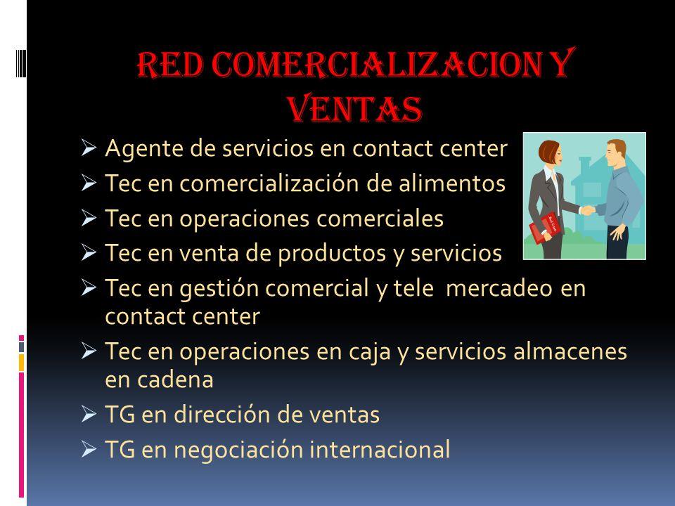 RED COMERCIALIZACION Y VENTAS