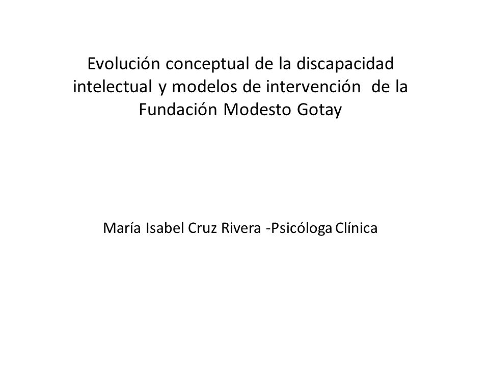 María Isabel Cruz Rivera -Psicóloga Clínica