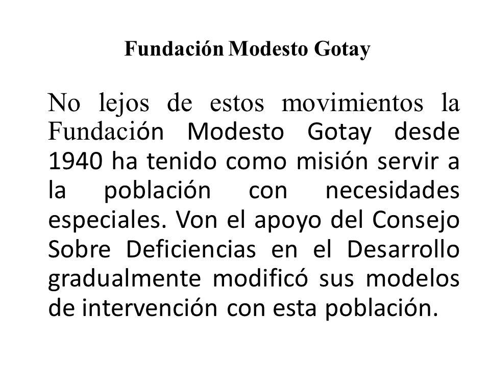Fundación Modesto Gotay