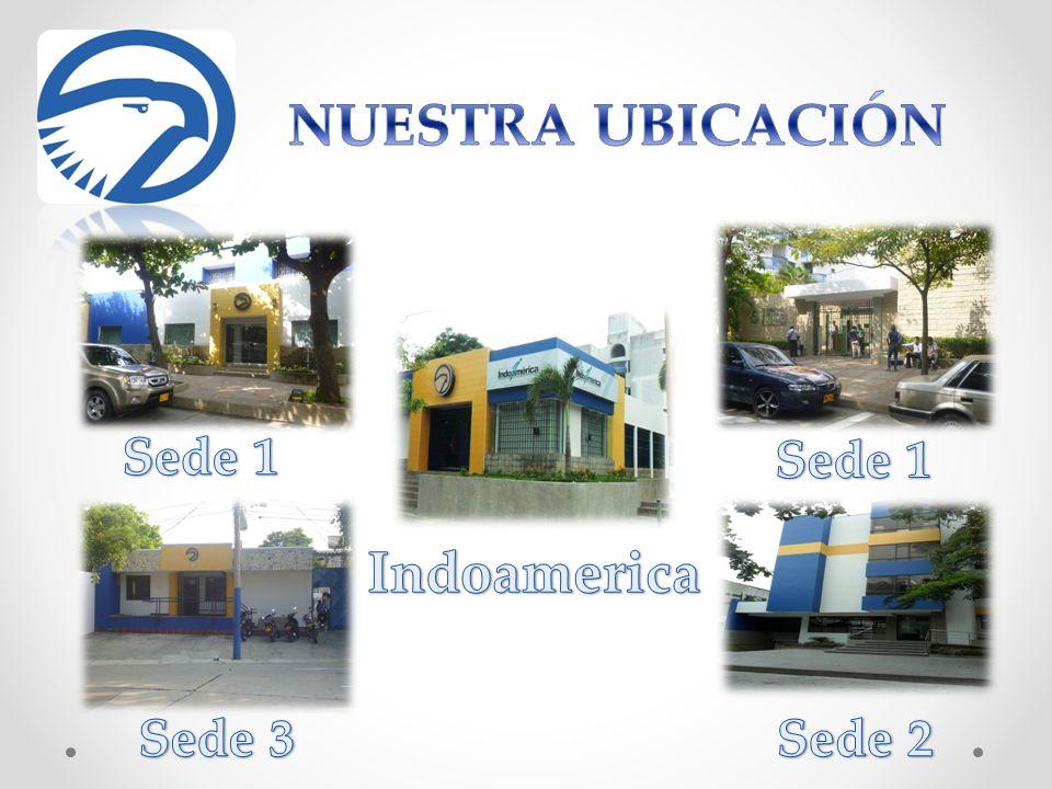NUESTRA UBICACIÓN Indoamerica