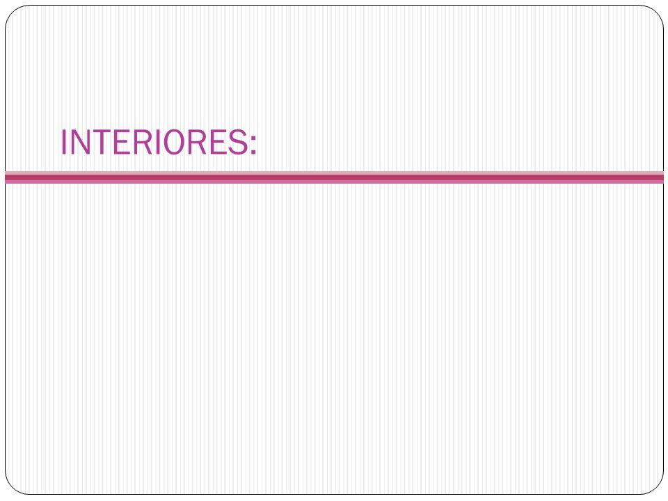 INTERIORES: