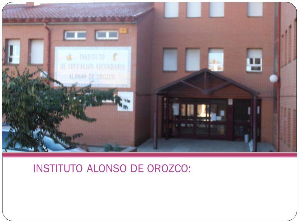INSTITUTO ALONSO DE OROZCO: