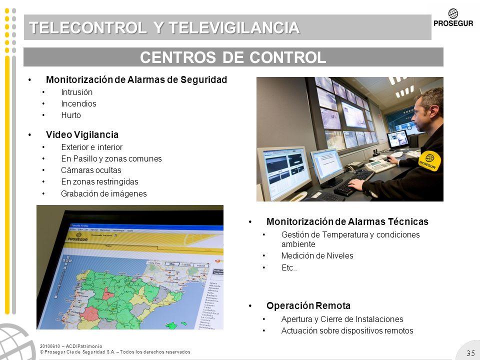 TELECONTROL Y TELEVIGILANCIA
