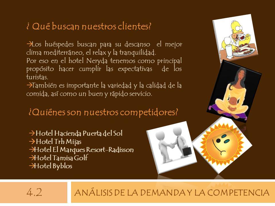 ANÁLISIS DE LA DEMANDA Y LA COMPETENCIA