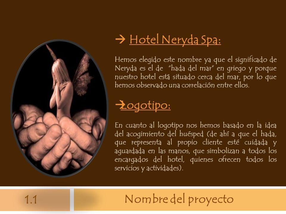  Hotel Neryda Spa: Logotipo: Nombre del proyecto 1.1