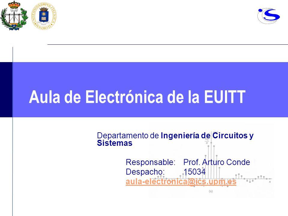 Aula de Electrónica de la EUITT