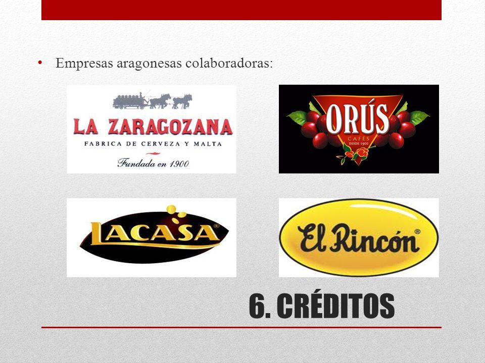 Empresas aragonesas colaboradoras: