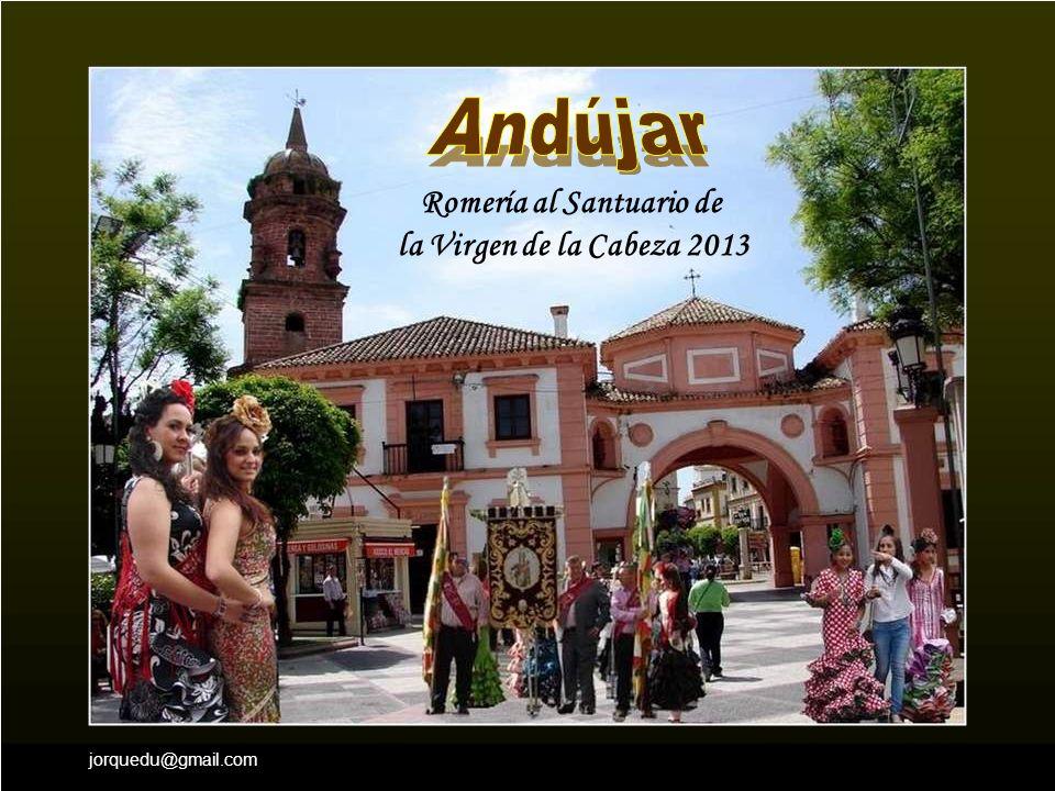 Andújar Romería al Santuario de la Virgen de la Cabeza 2013