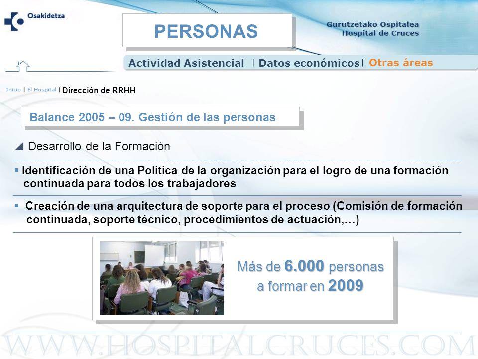 Más de 6.000 personas a formar en 2009