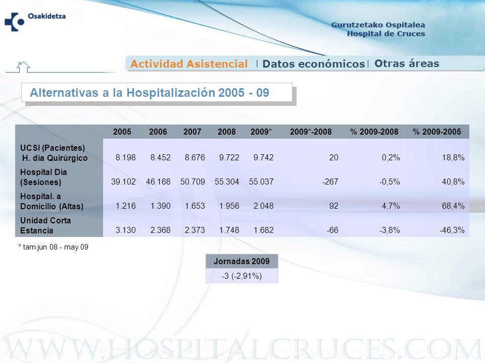 Alternativas a la Hospitalización 2005 - 09