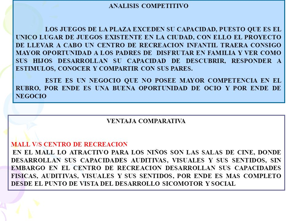 ANALISIS COMPETITIVO
