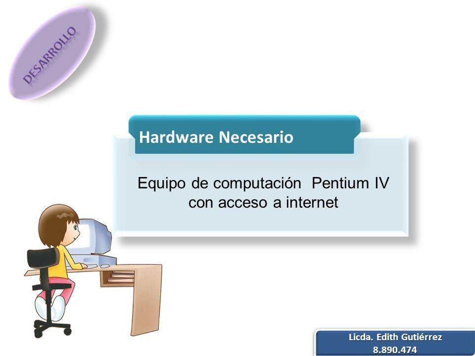 Equipo de computación Pentium IV