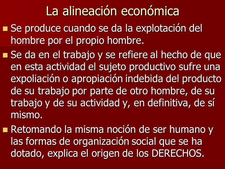 La alineación económica